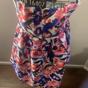 B Darlin Dresses - B Darlin Junior Plus Strapless Floral Dress  14/15